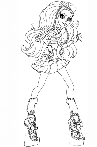 318x480 Madison Coxi Coloring Page