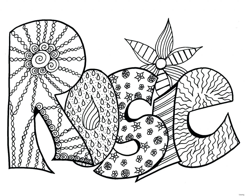 1024x819 Coloring Pages With The Name Madison Best Of Print Names Inside