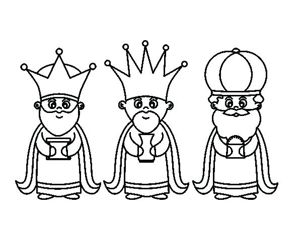 600x470 King Coloring Pages Three Kings Coloring Pages Wise Men Coloring