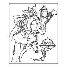 220x220 The Journey Of The Three Wise Men Coloring Pages
