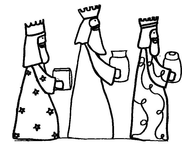 739x593 Three Wise Men Coloring Pages