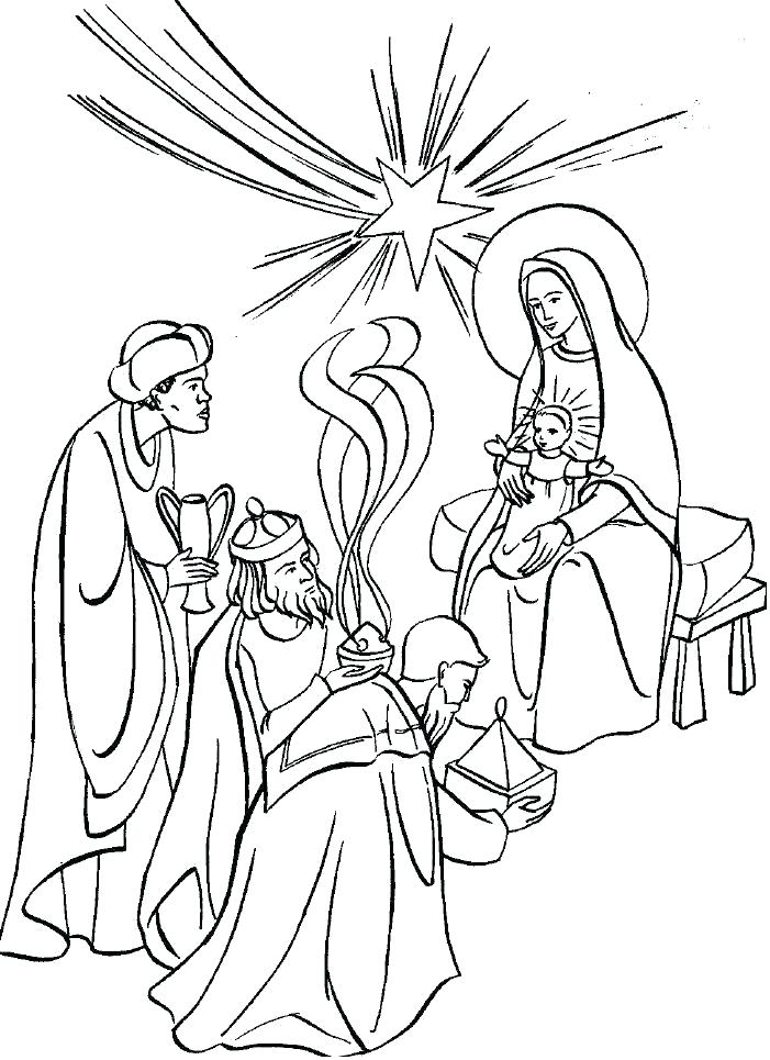 701x965 Three Kings Coloring Pages Grandmaman Site