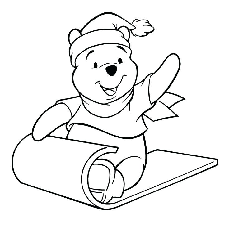 736x738 Carpet Coloring The Pooh Was Sitting On The Carpet Coloring Page
