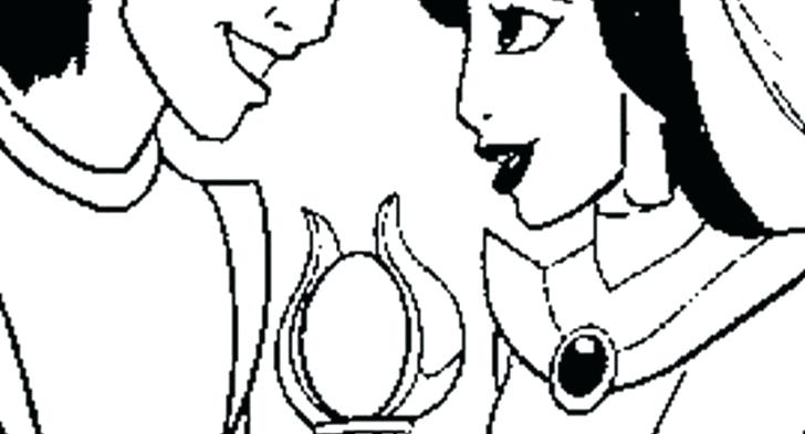 728x393 Coloring Pages Easter Jasmine And Top Aladdin In The Night Ride