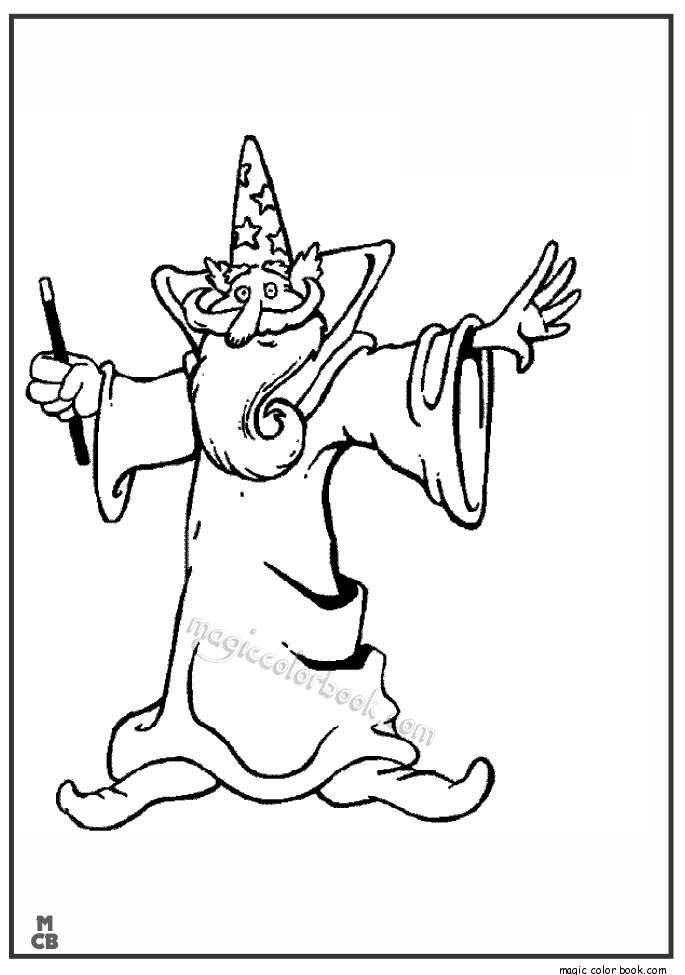 685x975 Witch Magic Coloring Pages Book