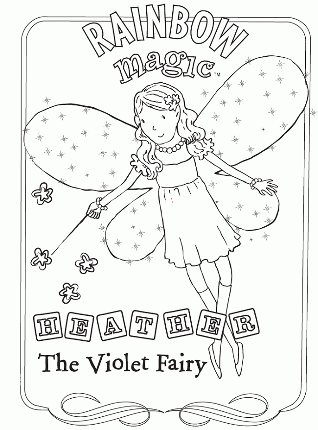 650x878 Rainbow Magic Coloring Pages Coloring Pages