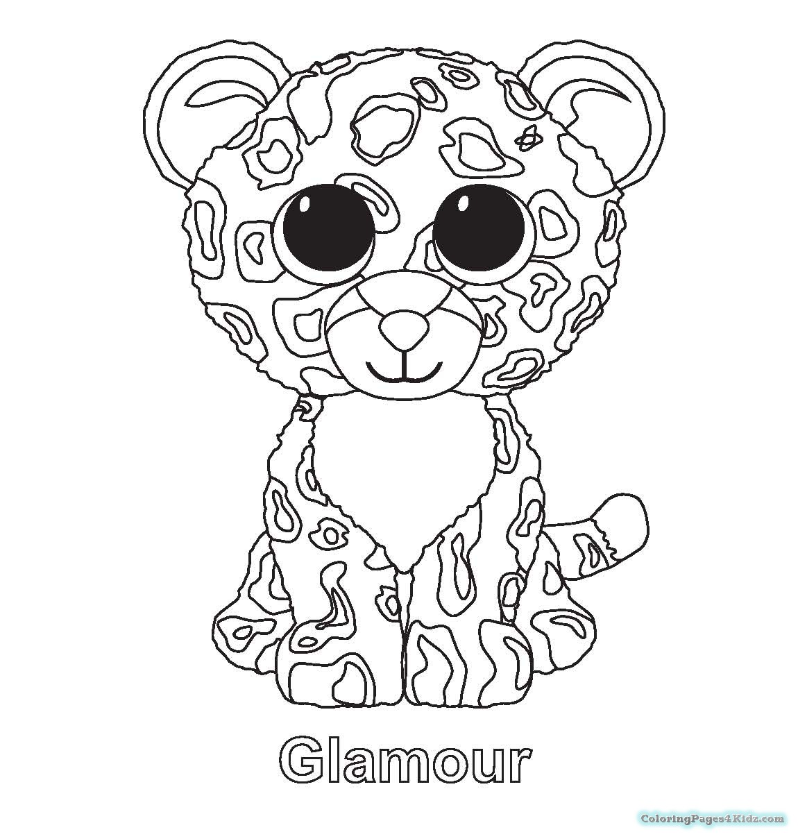 1150x1209 Beanie Boos Magic Coloring Pages Coloring Pages For Kids