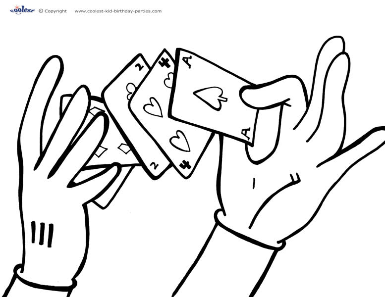 777x600 Magic Coloring Pages Coloring Page