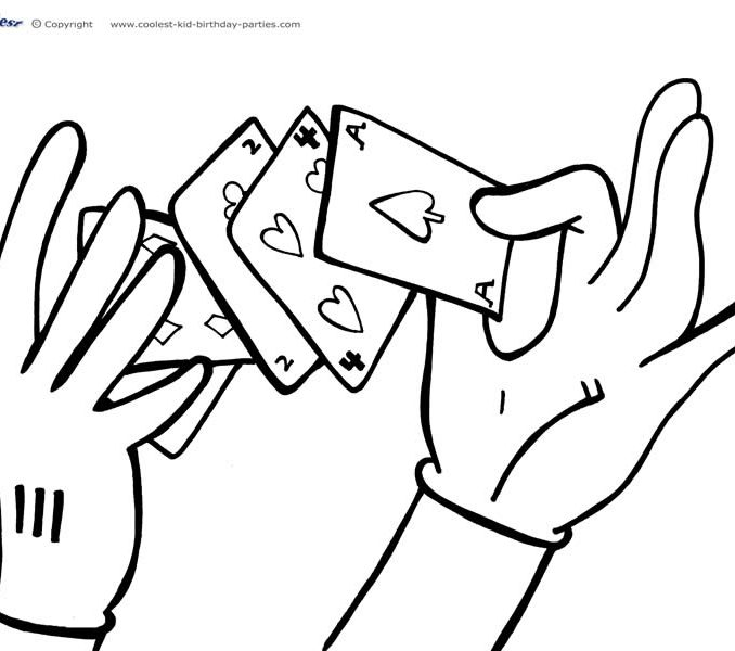 678x600 Magic Coloring Pages Free Coloring Page