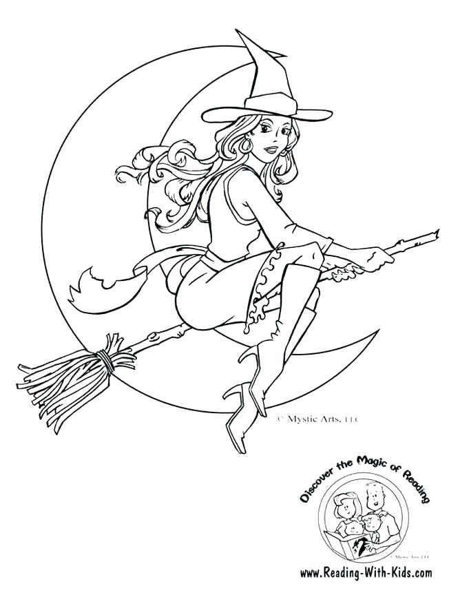 668x864 Witch Hat Coloring Page Vampire Witch Hat Coloring Pages Witch Hat
