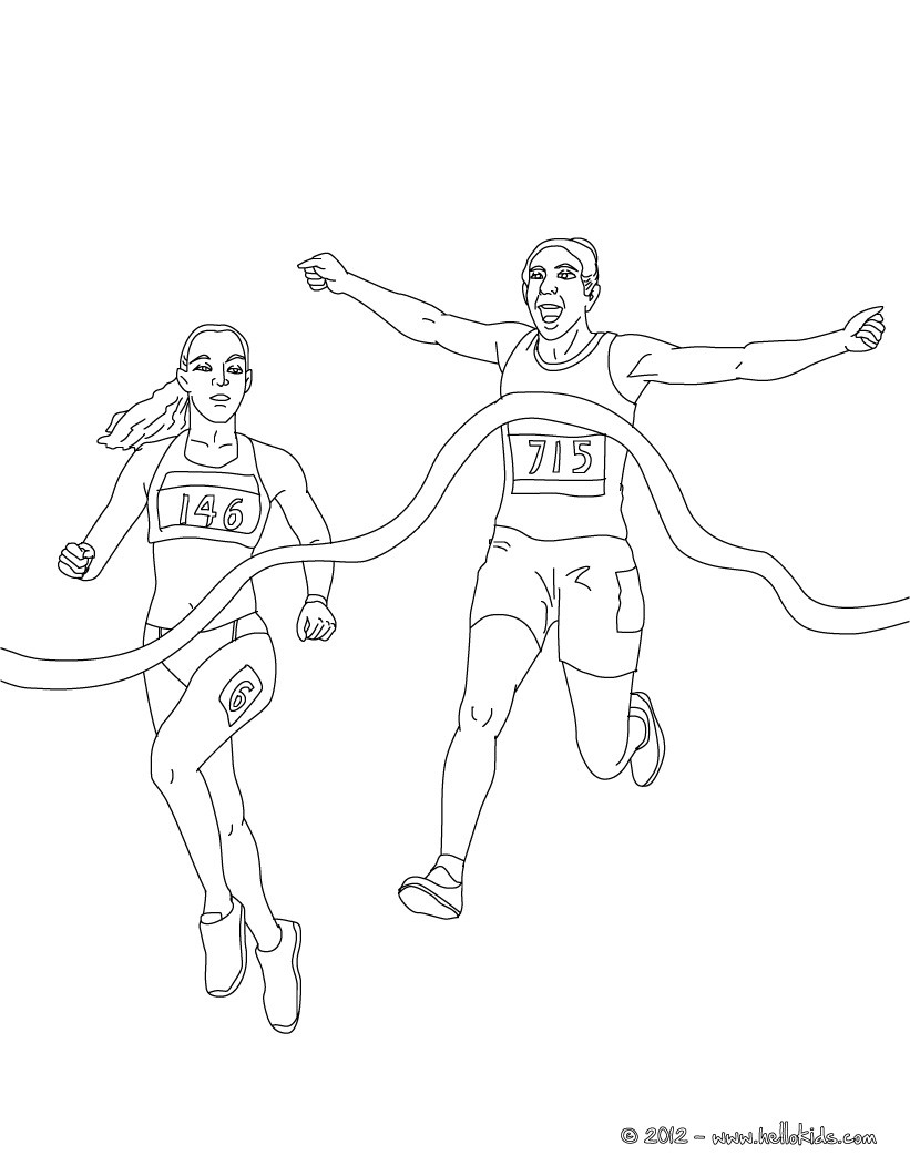 821x1061 Free Printable Athletics Coloring Pages For Kids Enjoy This