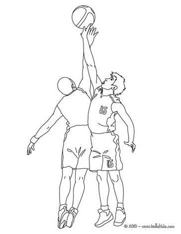 364x470 Magic Johnson Coloring Pages