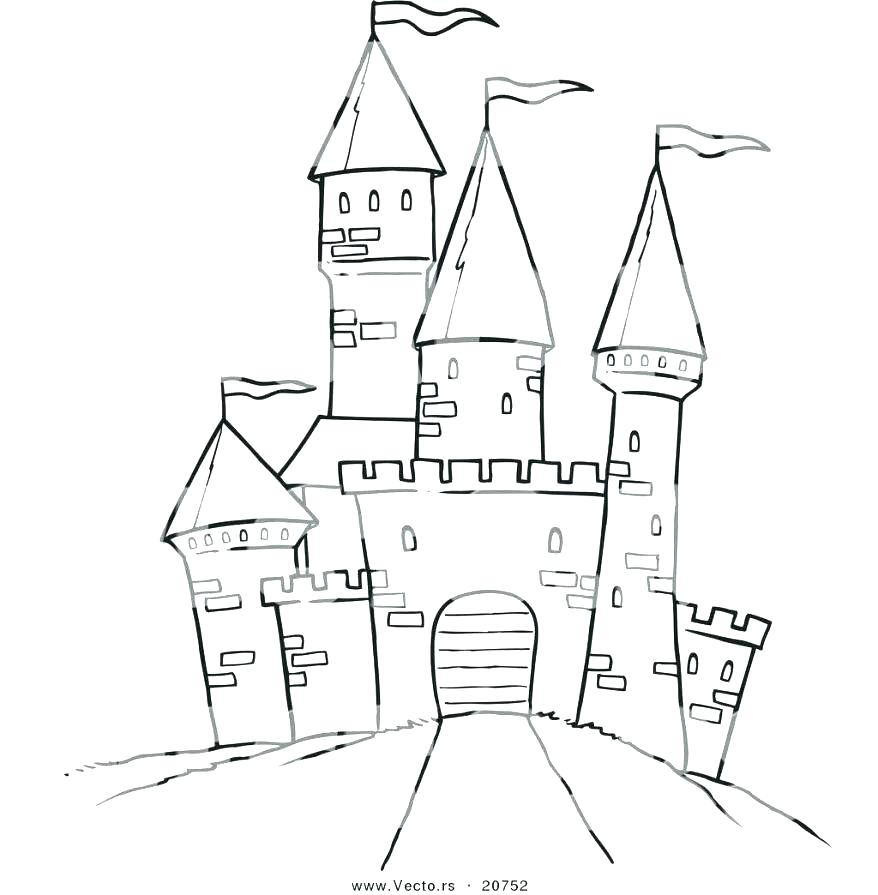 878x895 Disneyland Coloring Pages Coloring Page Coloring Pages Castle