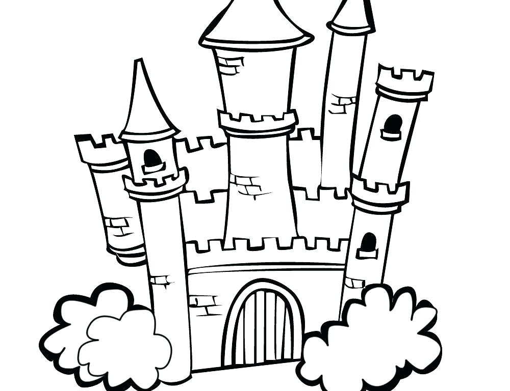 1000x768 Free Printable Disney Castle Coloring Pages Castles Boys Knight