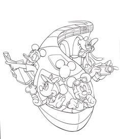 236x272 Magic Kingdom Coloring Page Color Me Happy Walt