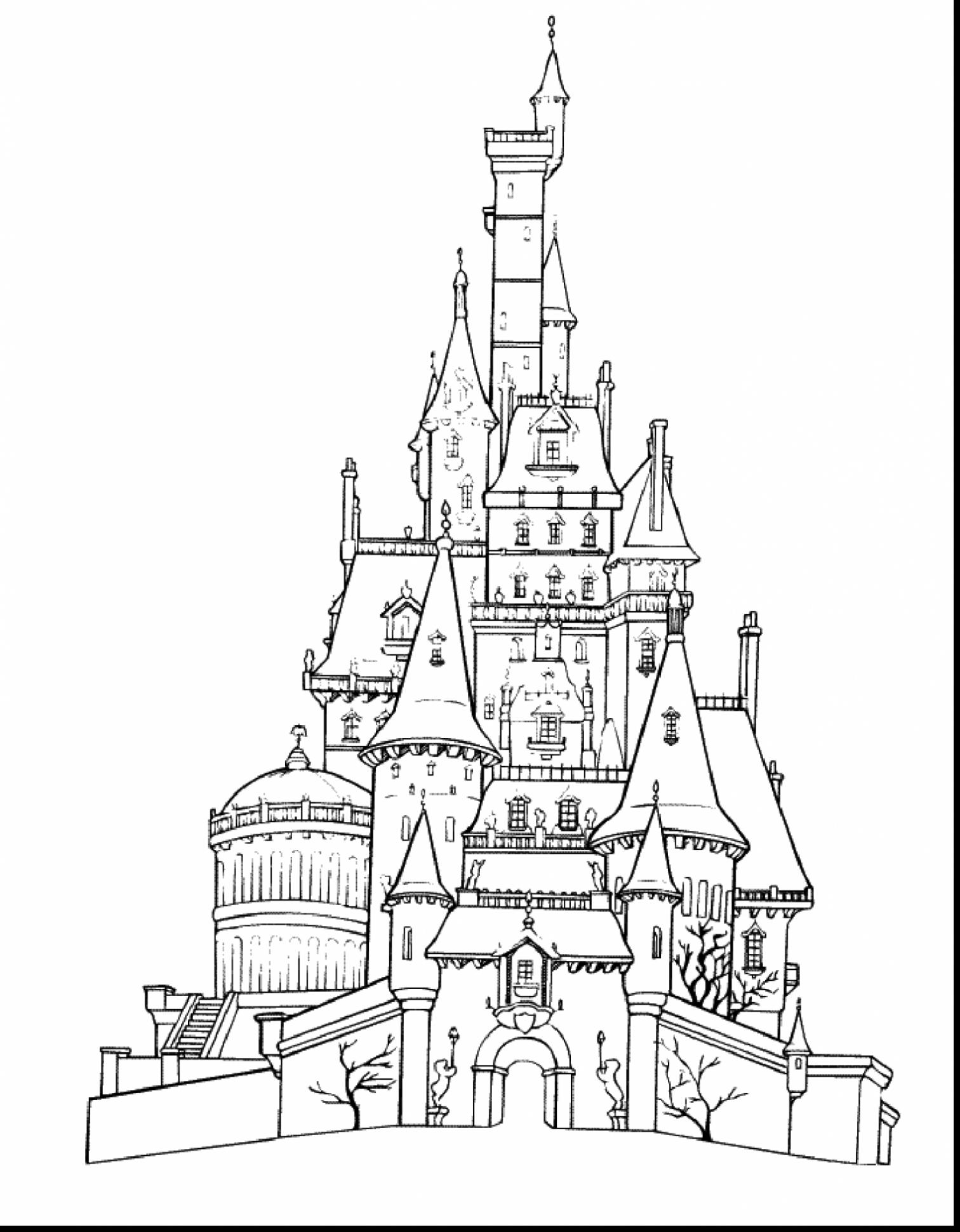 1512x1941 Trend Castle Coloring Page For Your Seasonal Colouring Pages