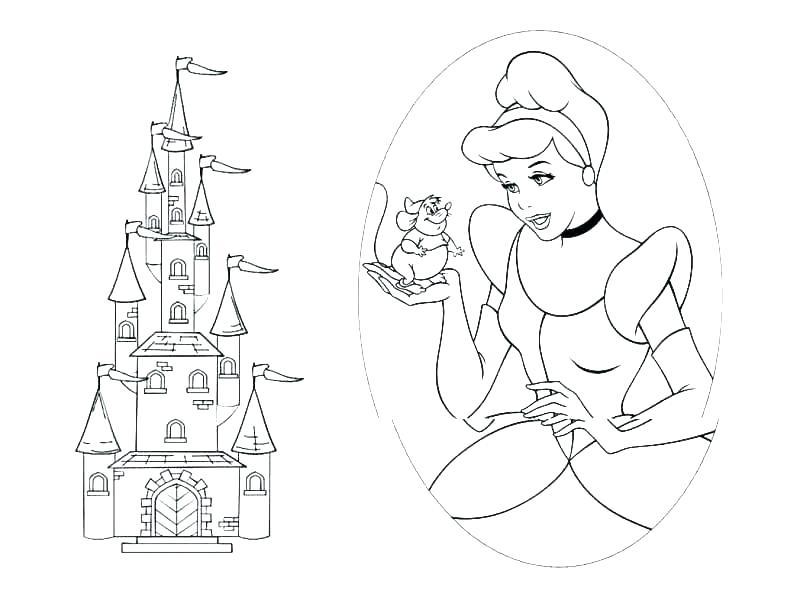 800x600 Walt Disney World Coloring Book