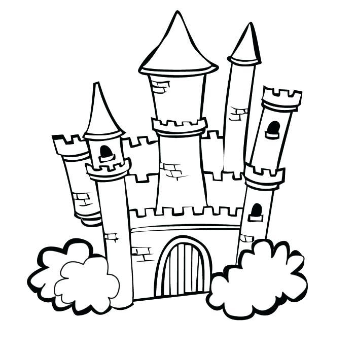 700x700 Disney Castle Coloring Page Castle Coloring Pages Printable