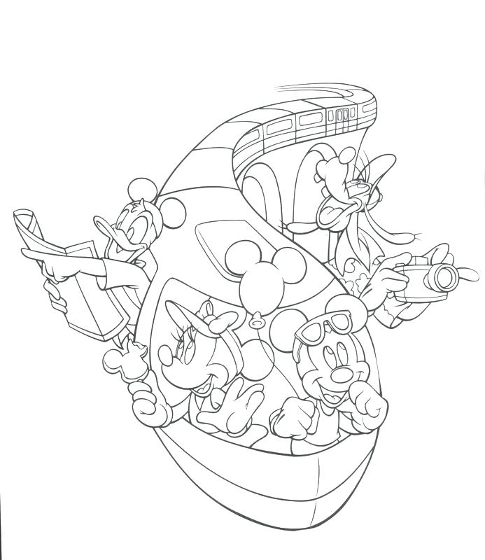 693x800 Florida Coloring Page Coloring Page Magic Kingdom Coloring Sheets