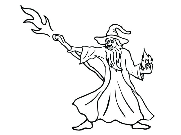600x448 Magic Coloring Pages Wizard Coloring Pages Wizard Coloring Pages