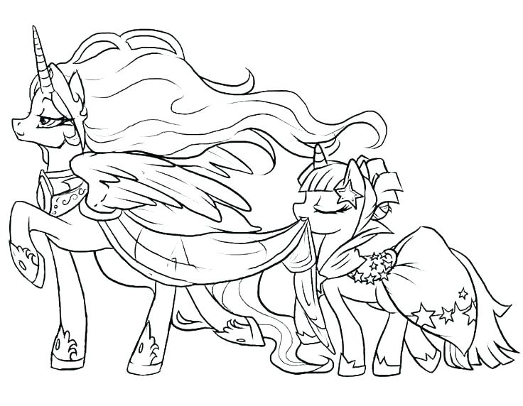 736x572 Magic Coloring Sheets Online Coloring Pages My Little Pony My