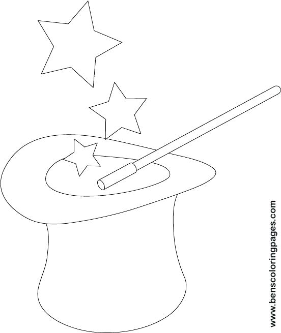 552x655 Magic Coloring Pages