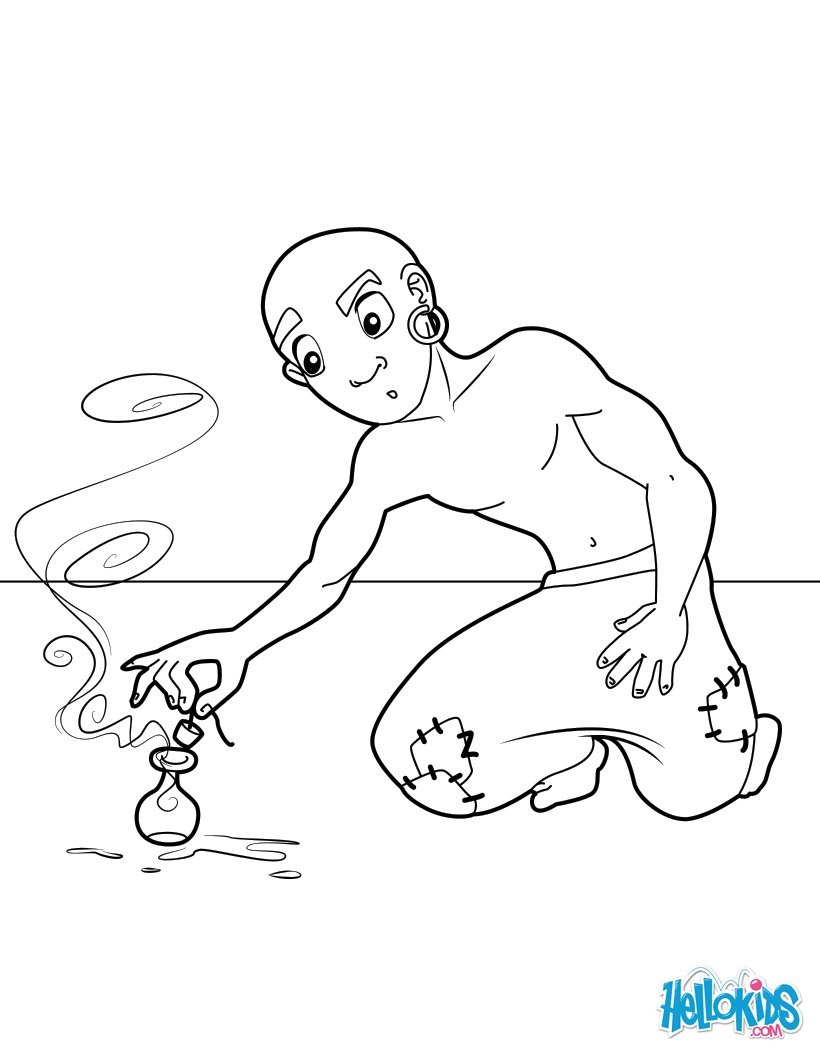 820x1060 Aladdin Coloring Pages, Drawing For Kids, Reading Learning