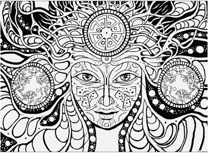 827x609 Mushroom Coloring Pages Collection Trippy Coloring Pages Mushrooms