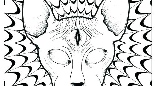 500x280 Mushroom Coloring Pages Coloring Pages Coloring Pages Psychedelic