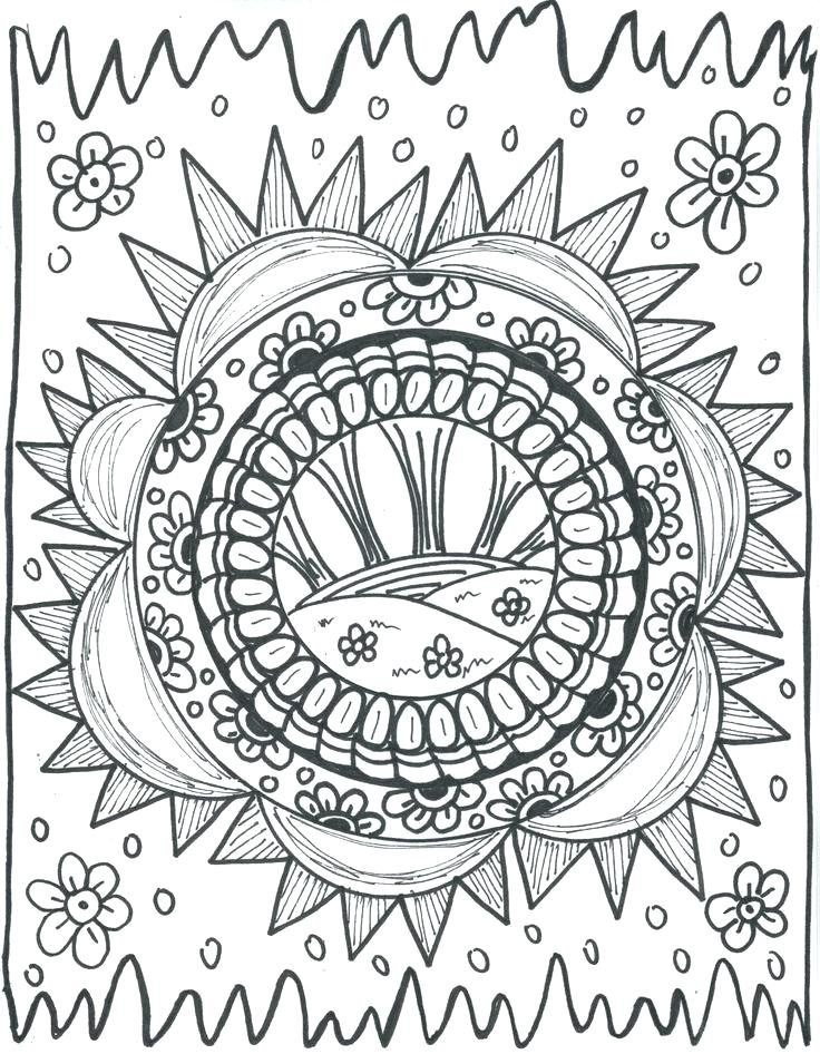 736x946 Psychedelic Coloring Pages Psychedelic Coloring Pages Printable