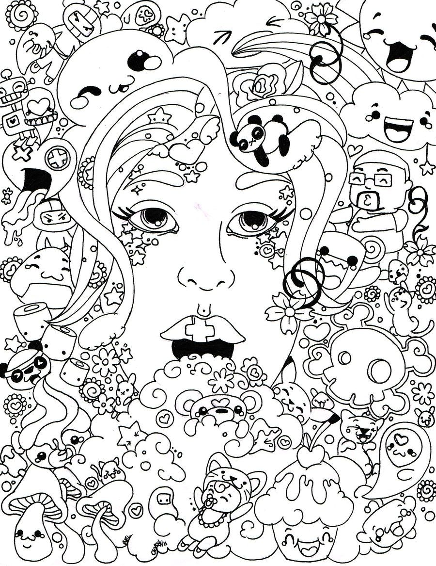 900x1167 Psychedelic Coloring Pages To Download And Print For Free