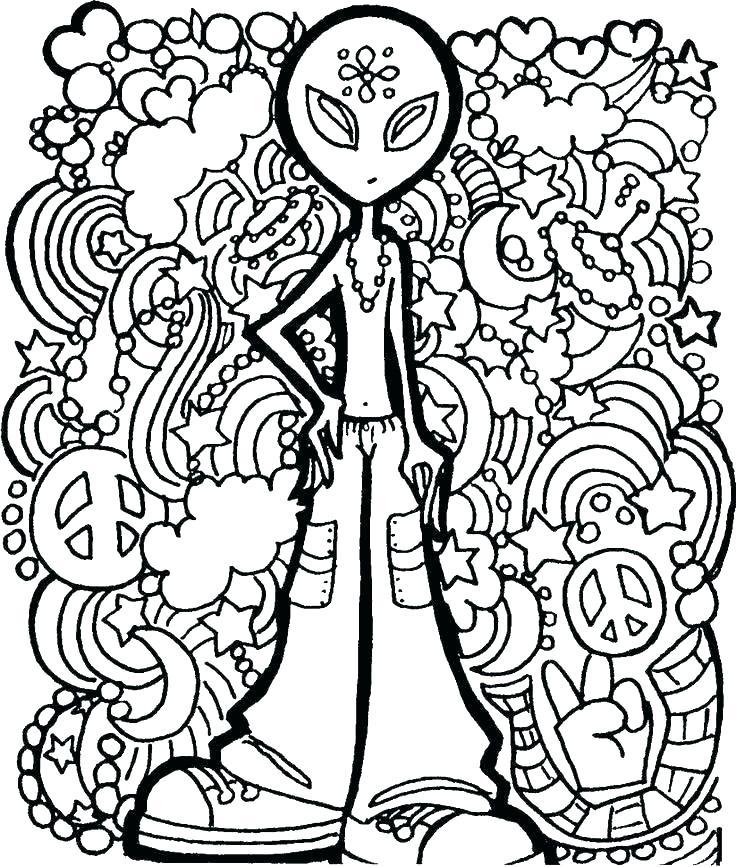 736x867 Trippy Mushroom Coloring Pages Mushroom Coloring Pages Mushroom