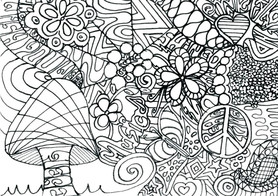 900x634 Trippy Coloring Page Coloring Page Colored Eyes