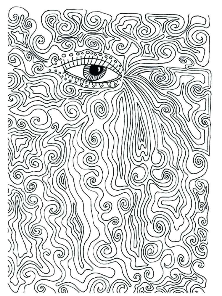 750x1000 Trippy Mushroom Coloring Pages Best Of Psychedelic Coloring Pages
