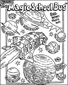 236x298 Magic School Bus Coloring Pages Free Printable Download Its