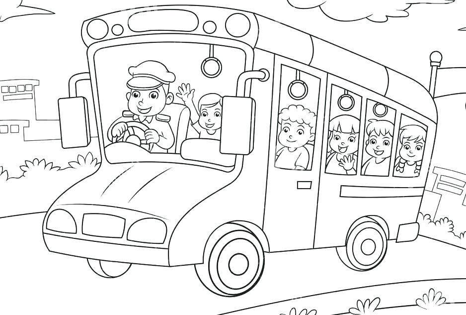 938x633 School Bus Coloring Book School Bus Coloring Book And School Bus