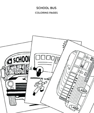 375x450 School Bus Coloring Pages School Bus Coloring Pages Magic School