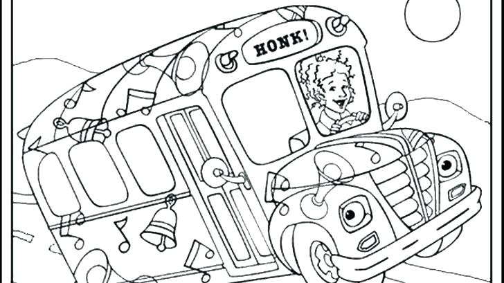 728x409 The Magic School Bus Coloring Pages School Bus Coloring Pages