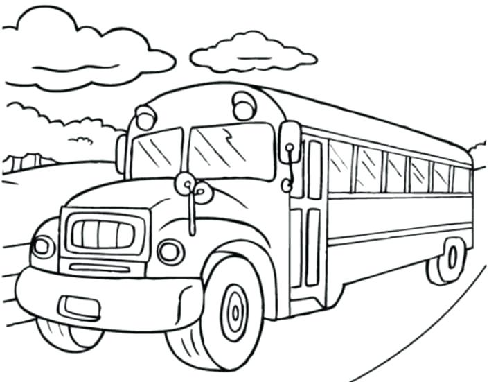 706x551 Click To See Printable Version Of School Bus Coloring Page Magic