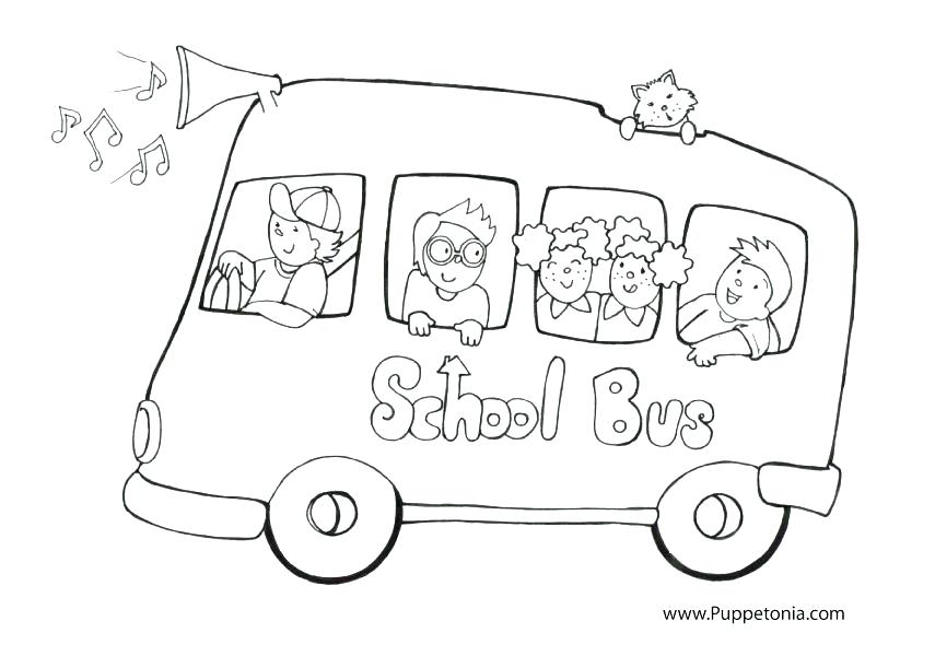 855x600 Coloring Pages School Bus Magic School Bus Coloring Book Pages