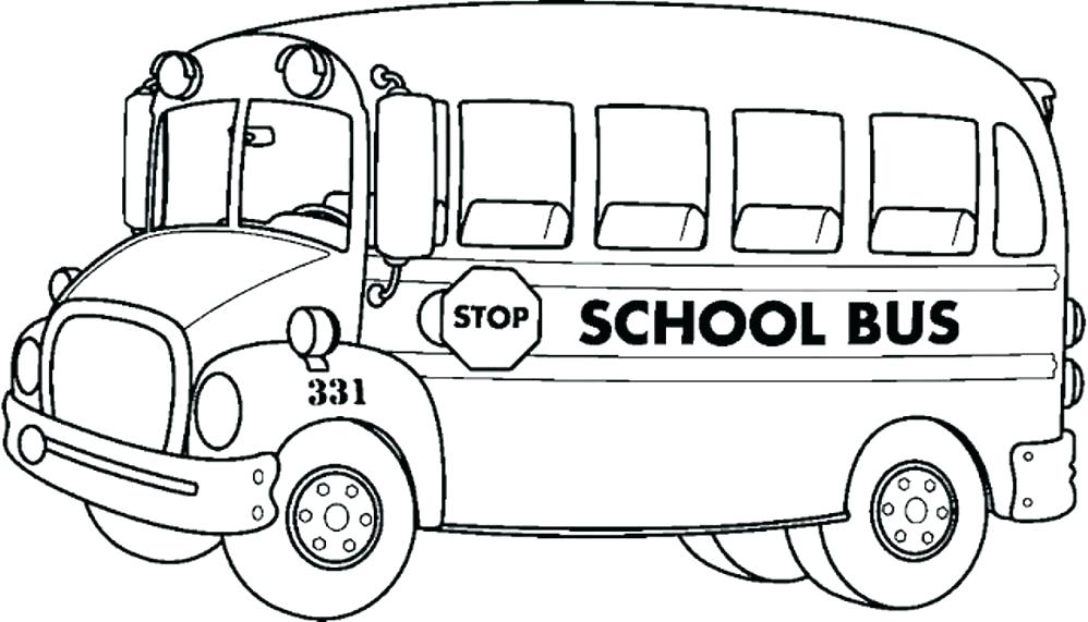 998x571 Coloring Pages School Bus Top School Bus Coloring Page Graphic