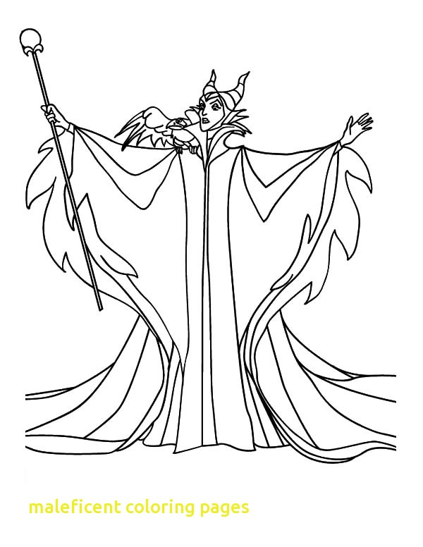 600x776 Maleficent Coloring Pages Maleficent Coloring Pages