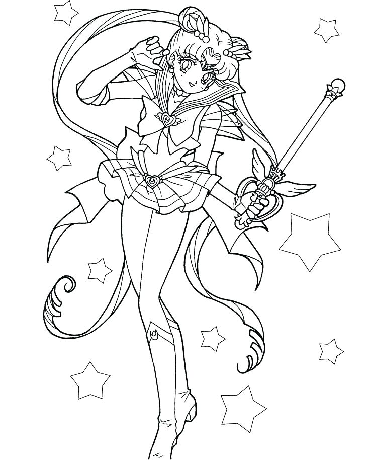 736x914 Sailor Moon Coloring Page Sailor Moon Coloring Pages Packed