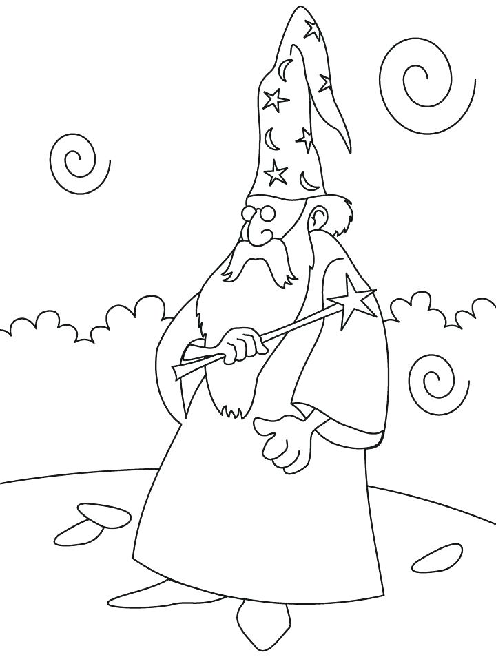 720x954 Coloring The Wizard Of Oz Coloring Pages Page With Magic Wand