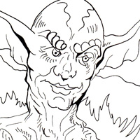 200x200 Mythical Creatures Free Coloring Pages For Kids