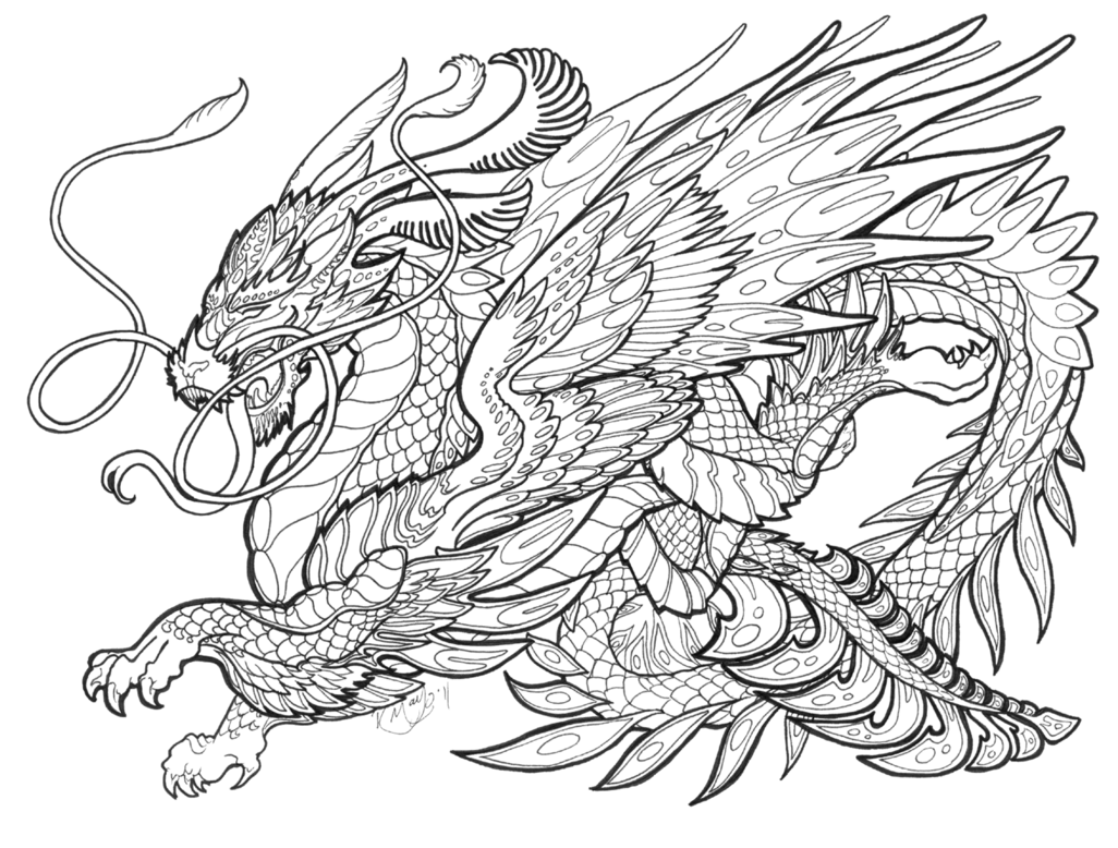 1026x778 Mythological Creatures Coloring Pages Download And Print For Free