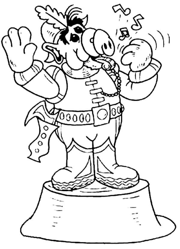 Magician Coloring Pages