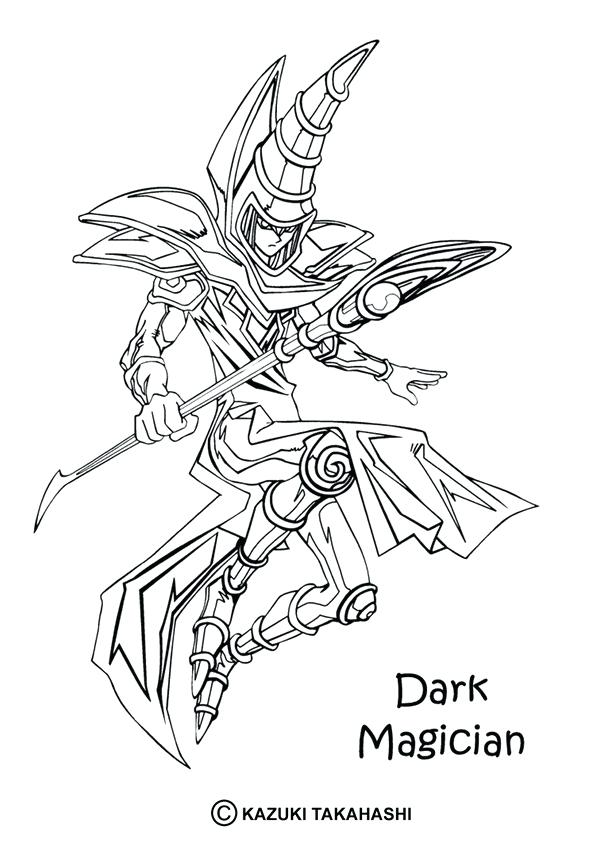 601x850 Yugioh Coloring Page Crammed Coloring Sheets Oh Pages On Book Info