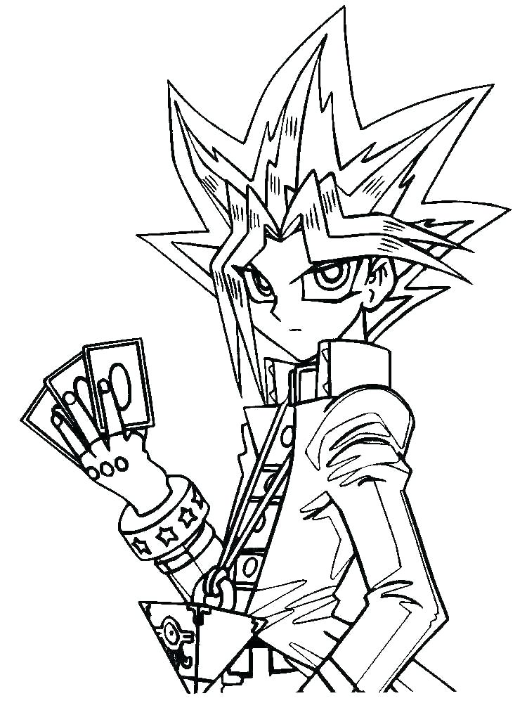 750x1000 Yugioh Coloring Pages Bonanza Coloring Sheets The Puzzle Oh Page