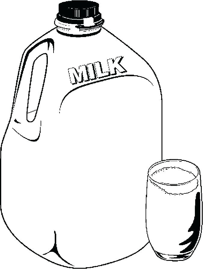 675x893 Milk Coloring Page Milk Coloring Page Glass Coloring Cartoon